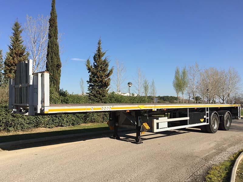 Alquiler de grúas y semiremolques en Zaragoza